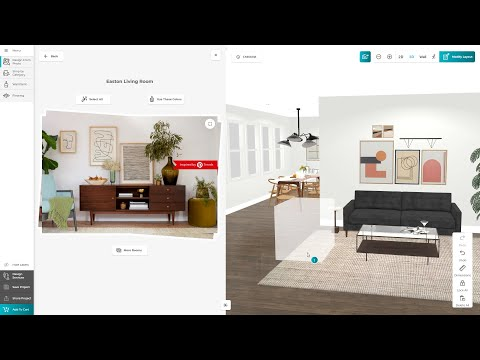 """""""Shopping for furniture should be as fun as scrolling on Pinterest,"""" said Beck Besecker, Marxent's CEO and Co-Founder. """"Joybird has always put inspiration at the center of its story and customers love it. Integrating Pinterest-inspired imagery into its 3D space planner to build confidence and comfort for the consumer is the next big leap. Shoppers can play around with the elements and products that sparked their inspiration in the first place, and then easily complete a purchase."""""""