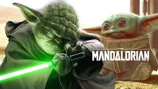 Star Wars The Mandalorian Baby Yoda Scene - Jedi History Breakdown
