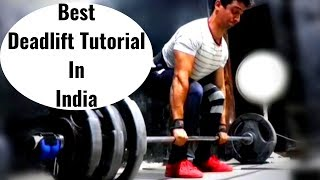 How To Do Deadlift Properly  Step by Step Guide(Hindi)