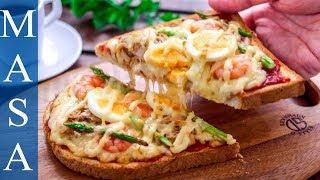 海鮮土司麵包披薩/Seafood Pizza Toast  MASAの料理ABC