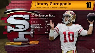 Jimmy Garoppolo  | 2019 Season Highlights ᴴᴰ