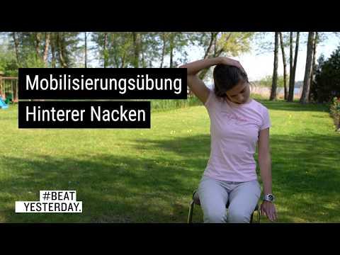Sportliche Mittagspause - Mobilisierungsübung Hinterer Nacken
