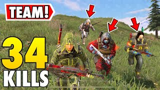 PLAYING WITH RANDOM SQUAD IN CALL OF DUTY MOBILE BATTLE ROYALE!