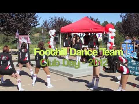 Foothill College Dance Team Club Day 2012