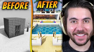 I Surprised A Noob With A Brand New Beach House