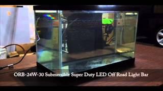 Submersible Led Off Road Light Bar Youtube