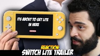 Nintendo Switch Lite REACTION - is it better?