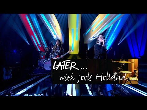 Warpaint - New Song - Later… with Jools Holland - BBC Two