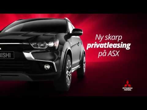 Mitsubishi ASX med ny skarp privatleasing