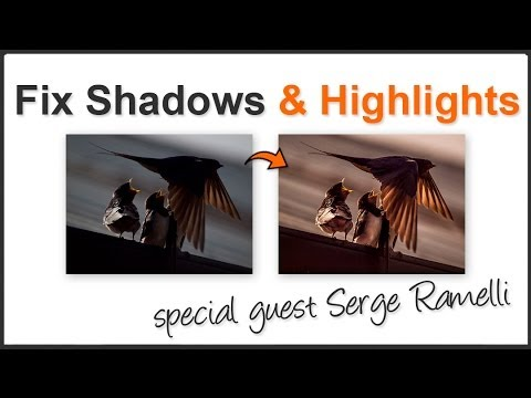 How To Fix Shadows And Highlights In Lightroom - Guest Serge Ramelli - Smashpipe Style