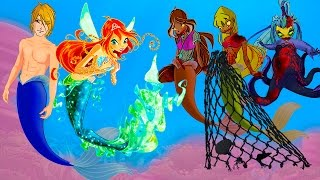 WINX CLUB love story fan animation cartoon Mermaid Zombie Apocalypse 3