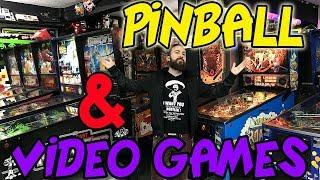 PINBALL BIGGEST COLLECTION ARCADE VIDEO GAMES VIDEOJUEGOS NINTENDO RETRO CONSOLAS MUSEO
