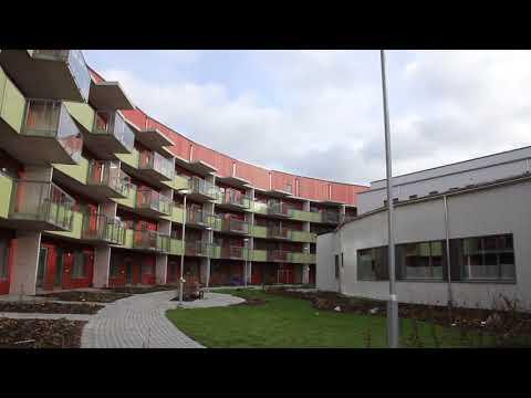 Kvarteret Skärvets innergård den 13 november