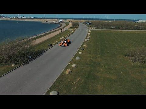 KTM X-BOW DALLARA IN THE STREETS OF COPENHAGEN