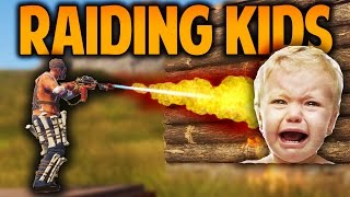 Rust - RAIDING KIDS - (Rust Raids & PvP)