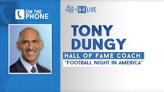Tony Dungy Talks Philip Rivers, Ravens, Trubisky, Kaepernick & More with Rich Eisen | Full Interview
