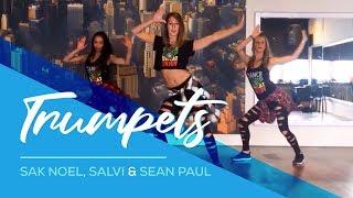 Trumpets - Sak Noel & Salvi - ft Sean Paul - Easy Fitness Dance Choreography