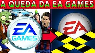 A QUEDA ABSURDA DA EA GAMES (1982-2021) (ELECTRONIC ARTS)