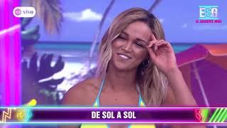 Angie Arizaga fue sorprendida por Jota Benz con romántica canción en vivo