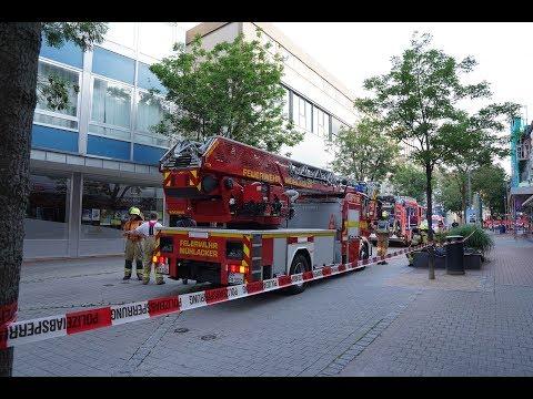 Feuer in der Mühlacker Bahnhofstraße