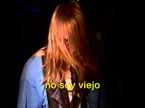 Nirvana - Scoff (Subtitulado español) Live 1990 Canada