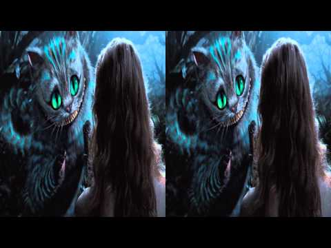 Alice in Wonderland 3D Trailer in Stereoscopic 3D 1080p TRU3D
