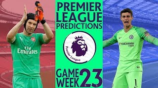 EPL Week 23 Premier League Score and Results Predictions 2018/19
