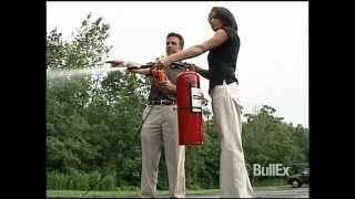 BullEx Live-Fire Extinguisher Training System - YouTube