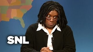 Weekend Update: Whoopi Goldberg on Her Poise Pads Commercial - SNL