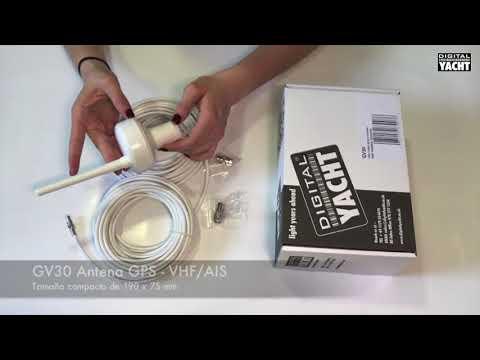 GV30 Antena marina GPS + VHF/AIS - Digital Yacht España