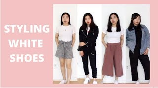 How to style White Shoes | StyleTwins