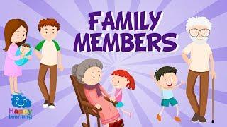 Miembros de la familia en inglés | Vídeos Educativos para Niños. Aprende inglés