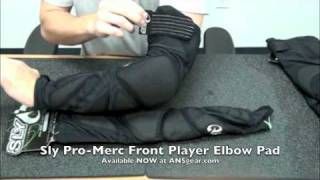 Налокотники Sly S12 Pro-Merc Elbow Pad Front Player