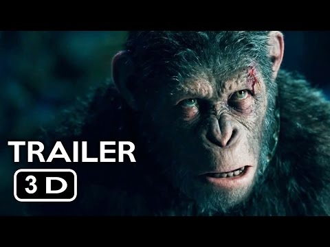 War for the Planet of the Apes Official Trailer 3D 20th Century FOX #YT3D