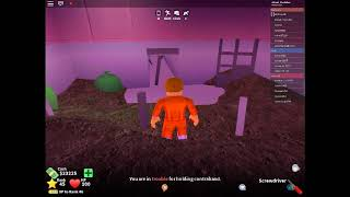 Roblox Mad City Escape From Prison With Screwdriver - Mad City Tornavida İle Kaçış