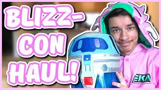 Overwatch - BLIZZCON 2019 HAUL (D.VA Onesie, Mei Backpack, AND MORE)