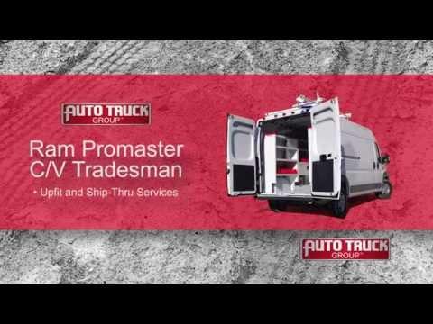 Ram Promaster & C/V Tradesman Van Solutions