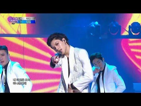 【TVPP】Taemin(SHINee) - Danger, 태민(샤이니) - 괴도 @ 2014 KMF Live