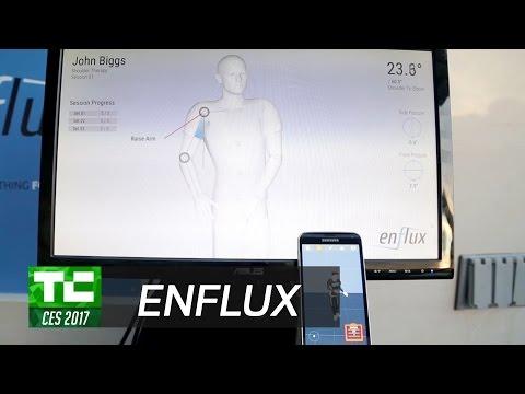 Enflux demonstrates motion capture clothing