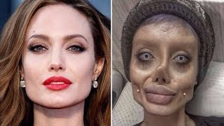 Angelina Jolie look alike is Shocking @Hodgetwins