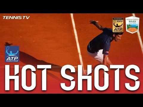 Hot Shot: Djokovic Slides To Winner In Monte-Carlo 2017