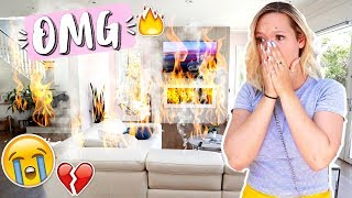 STORYTIME: My House Actually Almost Burnt Down!!!