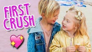 Preschoolers First Secret Crush With Everleigh 💕 | Slyfox Family