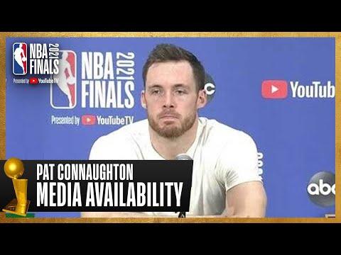 Pat Connaughton Game 2 Postgame Press Conference   #NBAFinals
