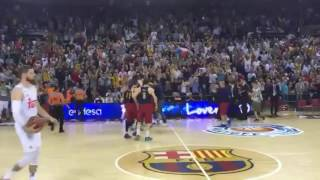 Barcelona vs Real Madrid 100-99 for the win / Perperoglou Game 1 ...