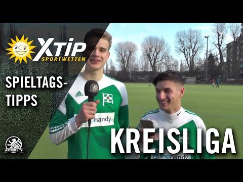 XTiP Spieltagstipp mit Julius Blümel und Rodger Abdallah (beide BSC Kickers 1900) - 20. Spieltag, Kreisliga A, Staffel 1 | SPREEKICK.TV