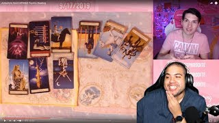 Reacting to a Psyhic Tarot Card Reading of ALR