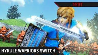 Vidéo-Test : TEST Hyrule Warriors Definitive Edition sur Switch