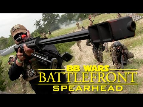 BB Wars - Spearhead Airsoft Action Gameplay! | Barret .50cal, Krytac, Elite Force | AirsoftGI.com