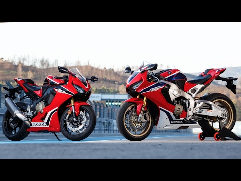 2017 Honda CBR1000RR and CBR100RR SP Track Test - Cycle News